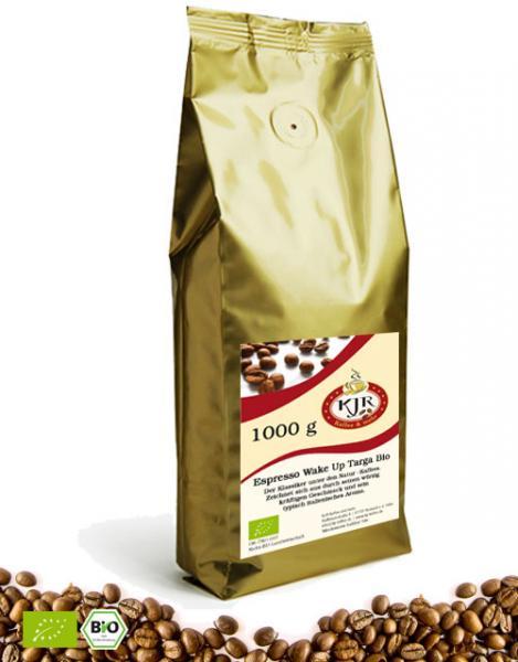 Espresso Wake Up Targa Bio DE-ÖKO-037 Nicht-EU-Landwirtschaft
